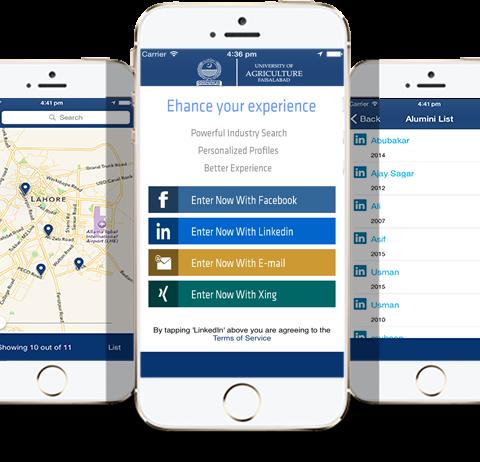 Alumni iOS / Iphone App