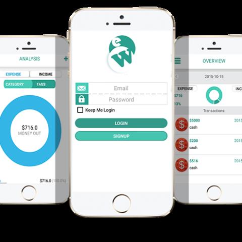 E-Wallet iOS/iPhone App