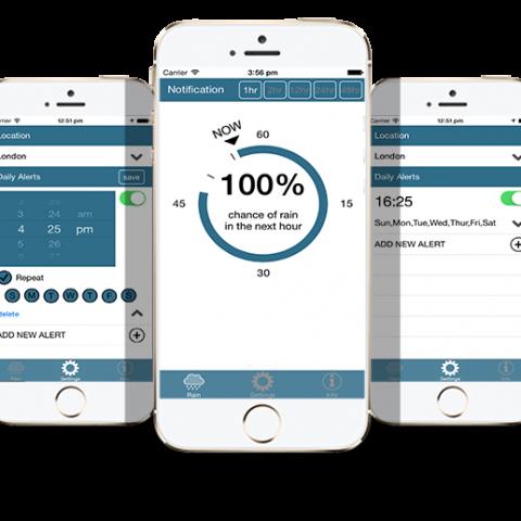 Rain iOS/iPhone App